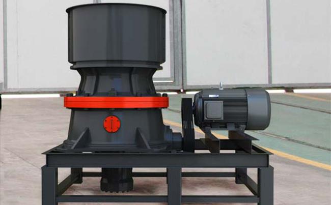 单缸液压圆锥破碎机设备详细信息介绍_河南中誉鼎力图片