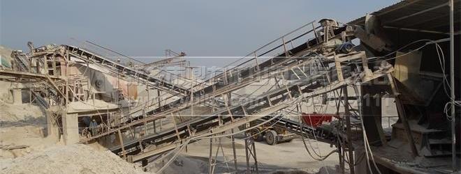 100t/h石子生产线