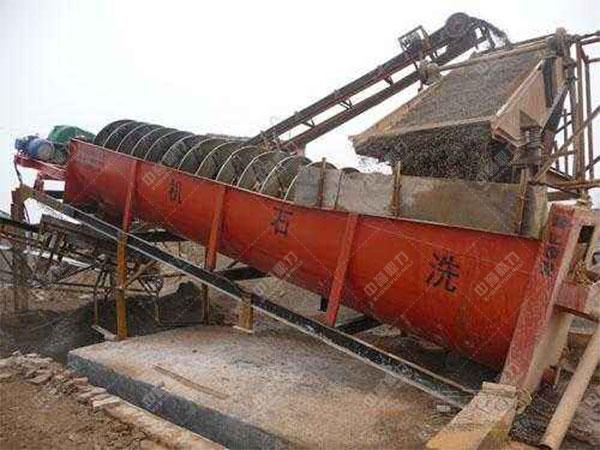 螺旋洗砂机设备