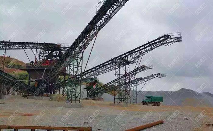 <b>江西萍乡时产800-1000吨石料生产线</b>