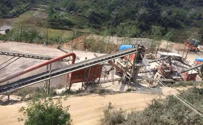 <b>江西宜春时产500吨石料生产线</b>