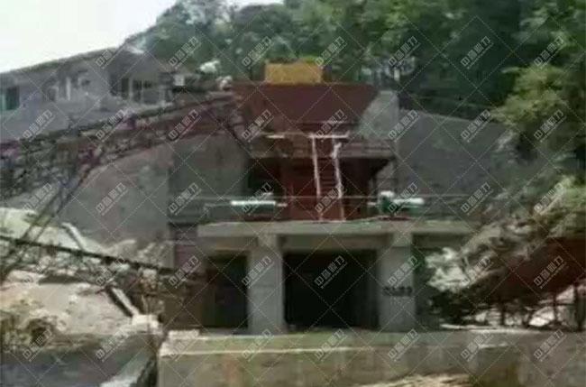 贵州遵义湄潭县时产500吨砂石生产线