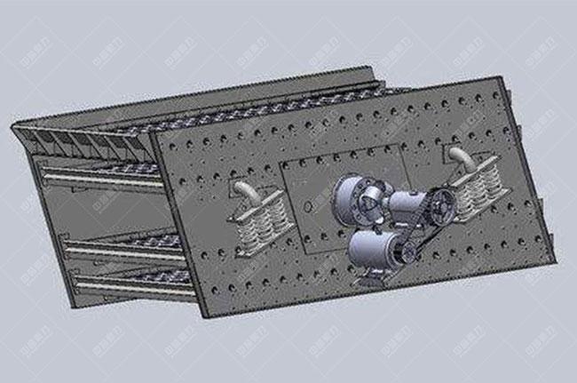 圆振动筛结构2