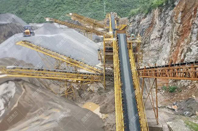 贵州中源建材时产1200吨砂石生产线展示图2