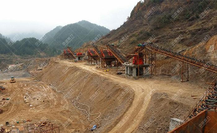 贵州中源建材时产1200吨砂石生产