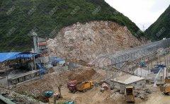 贵州六盘水立志砂石公司时产800