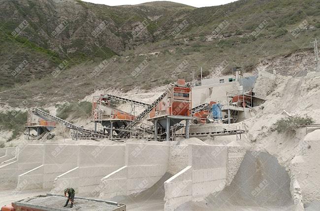 宁夏固原时产800吨石料生产线展示图2