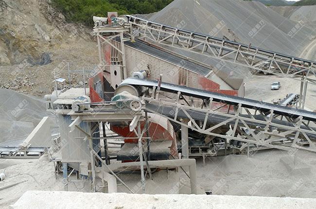 宁夏固原时产800吨石料生产线展示图4