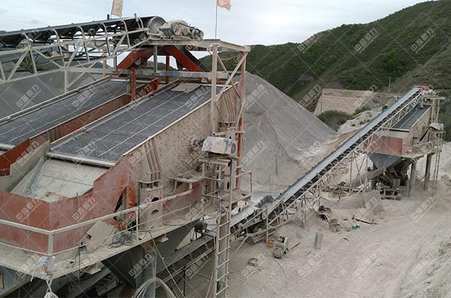 宁夏固原时产800吨石料生产线展示图5