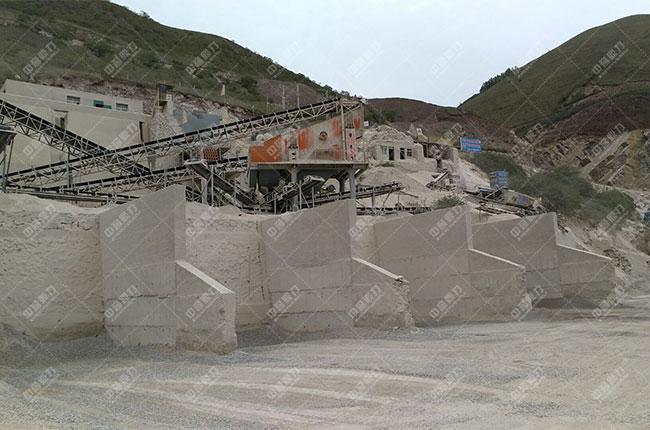 宁夏固原时产800吨石料生产线展示图6