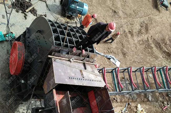 宁夏固原石料厂时产500吨骨料生产线现场案例展示3