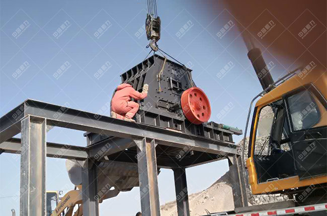 宁夏固原石料厂时产500吨骨料生产线现场案例展示4