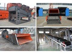 AG8砂石料生产设备协助新农
